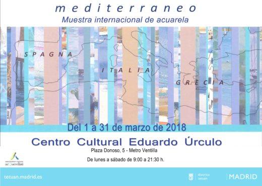 La Mostra Internazionale  MEDITERRANEO a marzo a Madrid