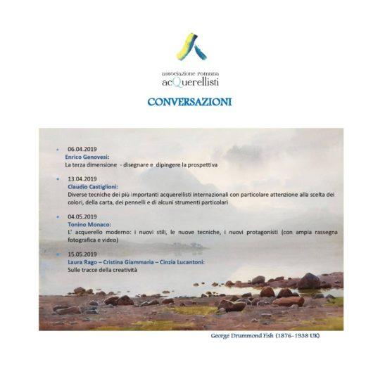 Il programma ARA delle conversazioni di maggio