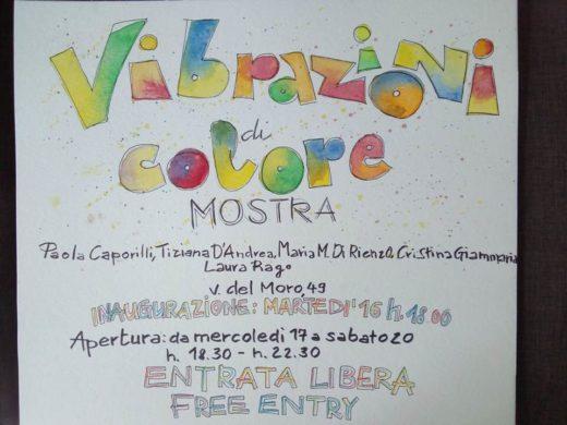 Vibrazioni di colore. Dal 16 luglio in mostra gli acquarelli delle socie Di Rienzo Giammaria Rago