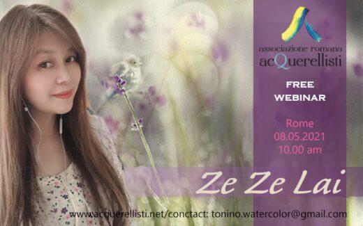 Demo online con l'Artista Internazionale ZE ZE LAI